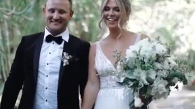 Sealed with a cheeseburger! Inside former Bachelor star Tara Pavlovic's wedding to Nick Shepherdson
