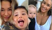 From Miss Universe Australia to her ~other~ universe: Erin McNaught and her two sons are the image of family wholesomeness