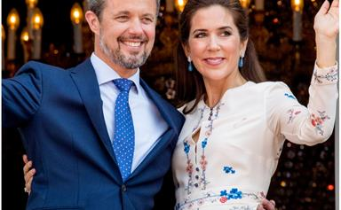 Crown Princess Mary looks radiant in a very nostalgic recycled dress during latest engagement