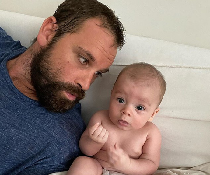 "Former Home And Away star Jake Ryan shares his ""beautiful and rewarding"" first year as a father"