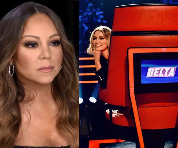 Mariah Carey rumoured to be bumping Delta out of her seat on The Voice
