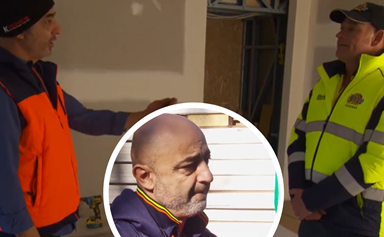 Shock Block walkout! Foreman Keith and contestant Harry go head to head in an explosive fight