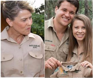 "Pregnant Bindi Irwin tells mum Terri: ""Our baby our way!"""