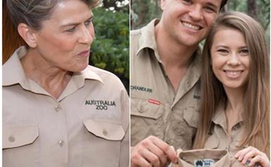 "Pregnant Bindi Irwin tells mum Terri: ""Our baby our way!"""