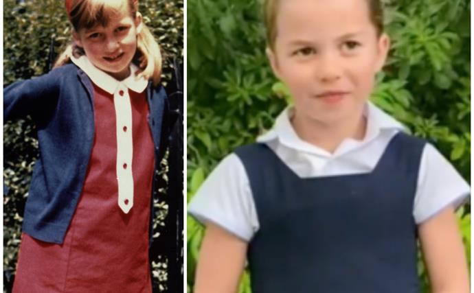 Princess Charlotte is the spitting image of her late grandmother in a new royal video, and suffice to say we're all in bits