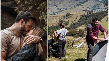 Locky and Irena's long weekend activity sums up pretty much everything we know to be true about the Bachelor poster couple
