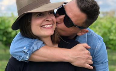 """Forget Merrick and Rosso! Meet Merrick Watts' """"incredibly patient"""" other half, his wife Georgie Sulzberger"""