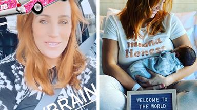 Deep from the newborn trenches, MAFS star & new mum Jules Robinson has shared the funniest video of what life is REALLY like with a baby