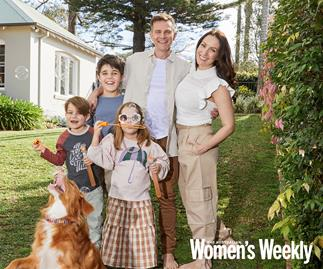 EXCLUSIVE: He's conquered the stage and the screen, but David Campbell says his kids are his greatest achievement