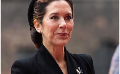 Crown Princess Mary has a Jackie Kennedy moment as she arrives at Danish court with Crown Prince Frederik