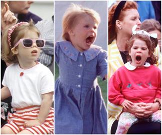 Fiery, fierce and that flaming red hair: As Princess Eugenie prepares to welcome her first royal baby, we look back at her most candid childhood pictures