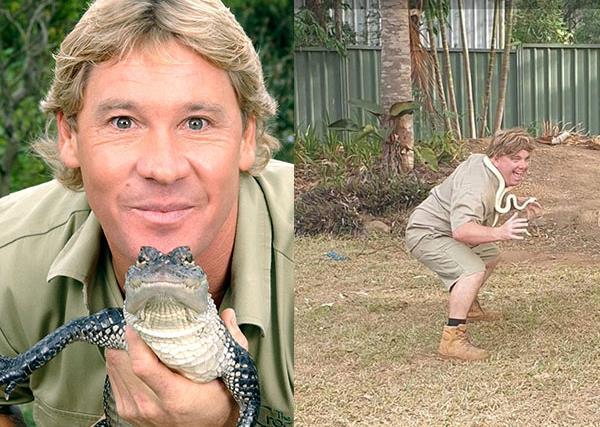 "CRIKEY! ""My husband is a Steve Irwin impersonator"""