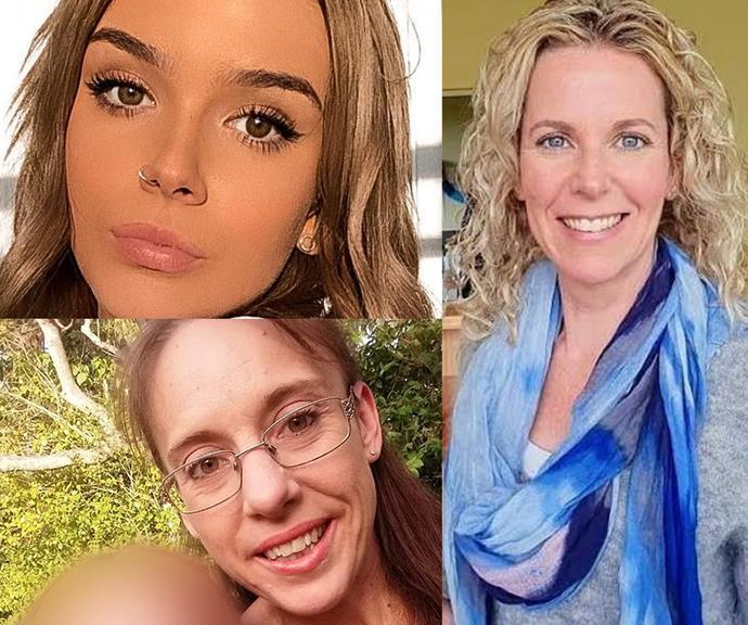 (L-R): Emerald Wardle, Elaine Pandilovski and Karen Gilliland