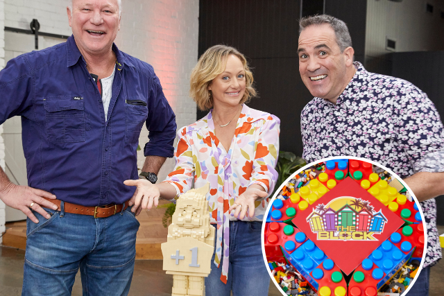 EXCLUSIVE: Lego Masters and The Block collide with an unprecedented challenge