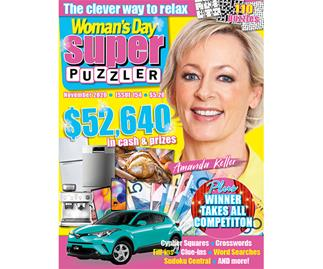 Woman's Day Superpuzzler Issue 154 Online Entry