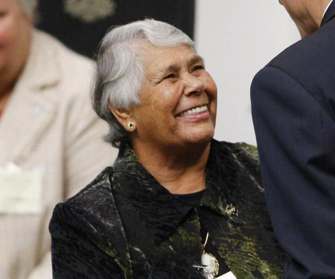 """EXCLUSIVE: Aboriginal leader Lowitja O'Donoghue is a so-called Stolen Generation """"success story"""", but behind her strong facade is a painful past"""