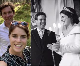 Pregnant Princess Eugenie shares gorgeous never-before-seen pics as she celebrates two years of marriage with Jack Brooksbank