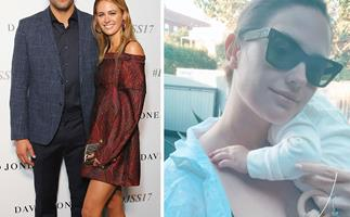 Jesinta Franklin shares a rare new photo of her daughter Tullulah - and she is one stylish baby!