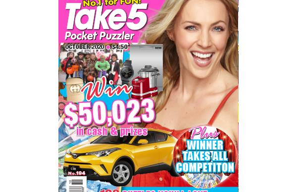 Take 5 Pocket Puzzler Issue 194 Online Entry Coupon