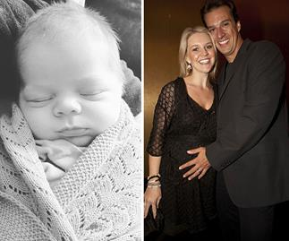 Their littlest love! The sweetest photos of Lauren Newton and Matt Welsh's newborn son Alby