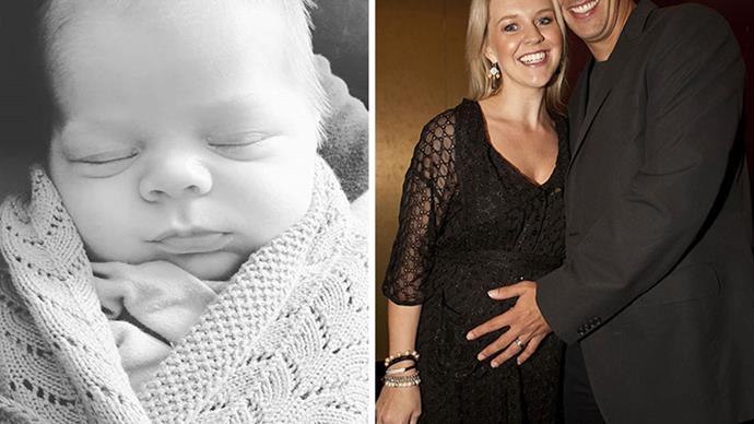 Their littlest love! The sweetest photos of Lauren Newton and Matt Welsh's newborn son Alby