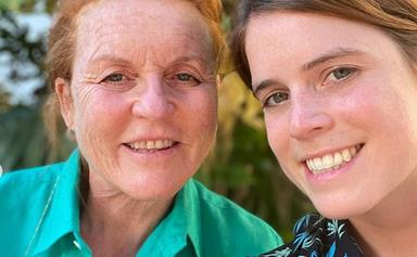"""""""You are one of a kind!"""" Princess Eugenie shares a slew of never-before-seen family photos to mark her mother Sarah Ferguson's birthday"""