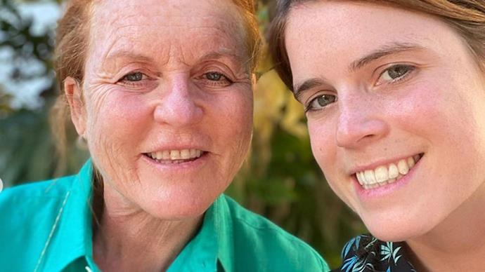 """You are one of a kind!"" Princess Eugenie shares a slew of never-before-seen family photos to mark her mother Sarah Ferguson's birthday"