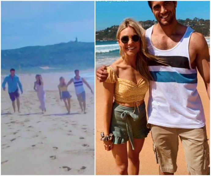 Sam Frost's hilarious outtake from Home & Away proves how different she is in stature to her, um, rather built co-star