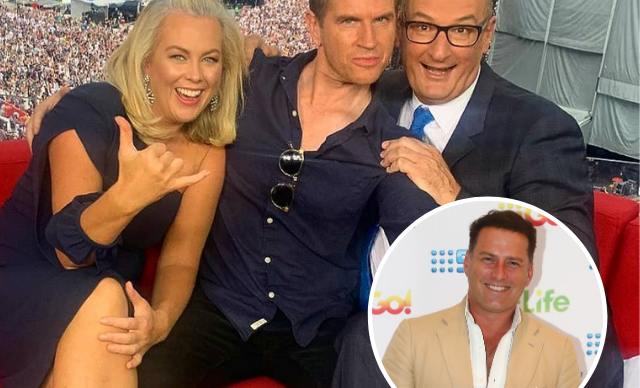 EXCLUSIVE: Karl Stefanovic wants to steal Sunrise's Sam Mac!