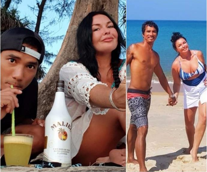 Schapelle Corby and Ben Panangian