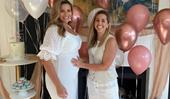 """We're having a little boy!"" Fiona Falkiner and fiancée Hayley Willis announce the gender of their baby in heartwarming new video"