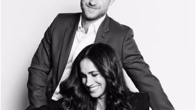 Prince Harry & Duchess Meghan's new portrait for TIME mirrors another of their most iconic snaps