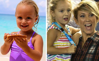 Bec and Lleyton Hewitt share never-before-seen photos of daughter Ava to mark a very special milestone