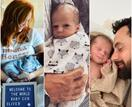 """Hold on tight little one, this thing called life is an amazing ride"": See all the cutest pics of Jules & Cam's new baby son"