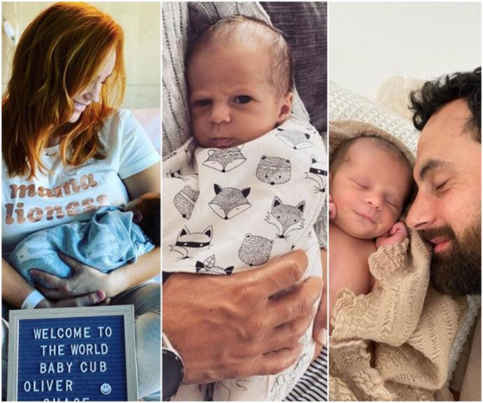 """""""Hold on tight little one, this thing called life is an amazing ride"""": See all the cutest pics of Jules & Cam's new baby son"""