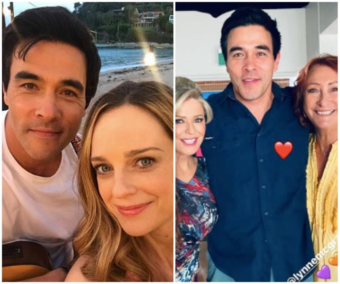 """""""In the hallowed halls of Summer Bay, you have and always will be my person"""": Home & Away cast flock to Instagram to share birthday tributes for James Stewart"""
