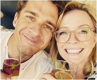 """I've loved this boy from the moment I met him"": Rebecca Gibney pens an emotional tribute to fellow actor Hugh Sheridan after his raw confession about his sexuality"