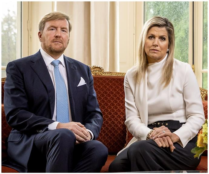 """""""It hurts to have betrayed your trust in us"""": King Willem Alexander & Queen Maxima of the Netherlands make an unprecedented apology"""