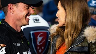 EXCLUSIVE: Inside Kyly Clarke's revenge romance with James Courtney