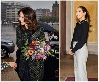 Five appearances, one week: Crown Princess Mary has been very busy - and for a good reason