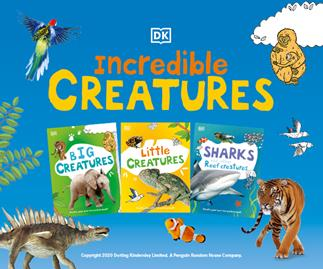 DK Incredible Creatures Activity Books: Only $2.50* when you buy your favourite magazine