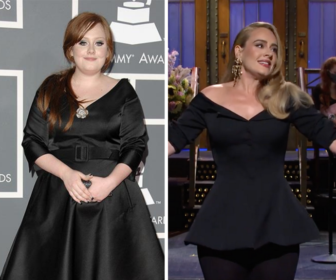 Someone like her: Adele's incredible transformation through the years