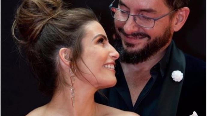 Ada Nicodemou shares a rare picture with her boyfriend Adam Rigby as they celebrate a special milestone