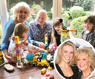 "EXCLUSIVE: ""She makes me look really ordinary"": Patti Newton gushes over daughter Lauren and new grandson Alby"