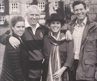 Candid, casual and as close as ever: Never-before-seen photos surface of the York family