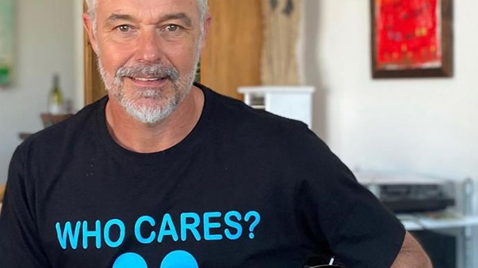 Home And Away star Cameron Daddo debuts a VERY dramatic new look... and fans go wild