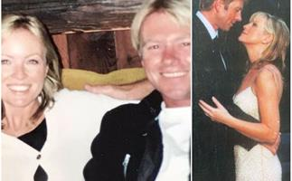 Rebecca Gibney shares rare throwback snaps with her husband Richard Bell as they ring in a special milestone