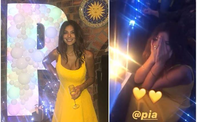 Pia Miller just celebrated her birthday with a lavish party that quite frankly, belongs in our dreams