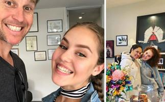 Rodger Corser and Christine Anu's touching tribute to their daughter Zipporah as she rings in a major milestone