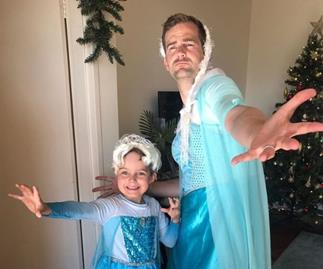 """REAL LIFE: """"Why my son and I dress up as Elsa"""""""